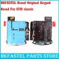 HKFASTEL Оригинальная клавиатура PCB UI-Board  плата для ключей для Nokia 6700c 6700  классические запасные части для ремонта  бесплатная доставка