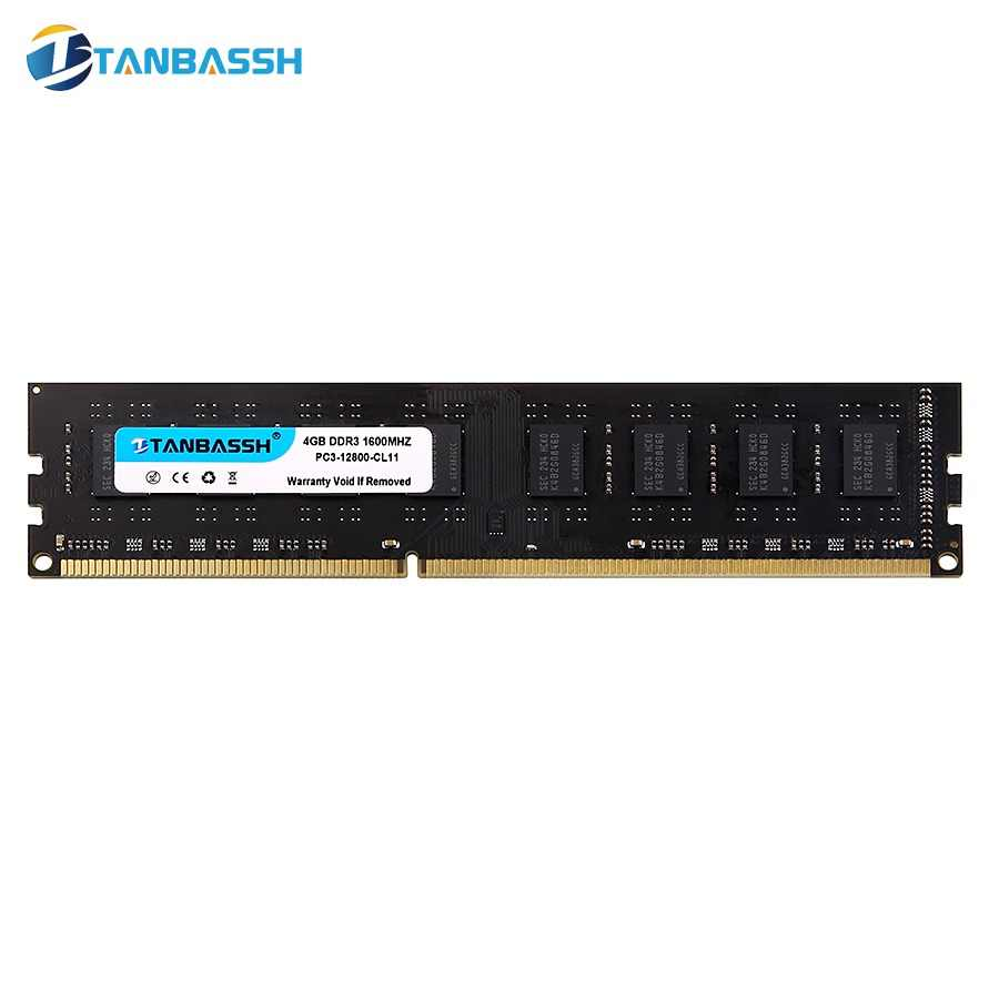 TANBASSH Ram DDR3 4GB/8GB 1333MHZ/1600MHz and 2GB 1333MHZ Desktop Memory 240pin 1.5V DIMM Intel/AMD