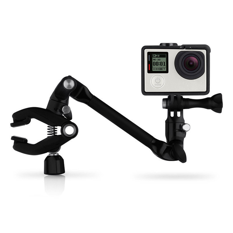 Music Jam Adjustable Instrument Tripods Mount Clip For GoPro Hero 4 3 5 Session SJCAM SJ4000 h9 Xiaomi Yi 4K Accessories accessories set for gopro hero 6 straps mount for go pro 5 3 4 session tripods for xiaomi yi 4k sjcam sj4000 eken h9 action cam
