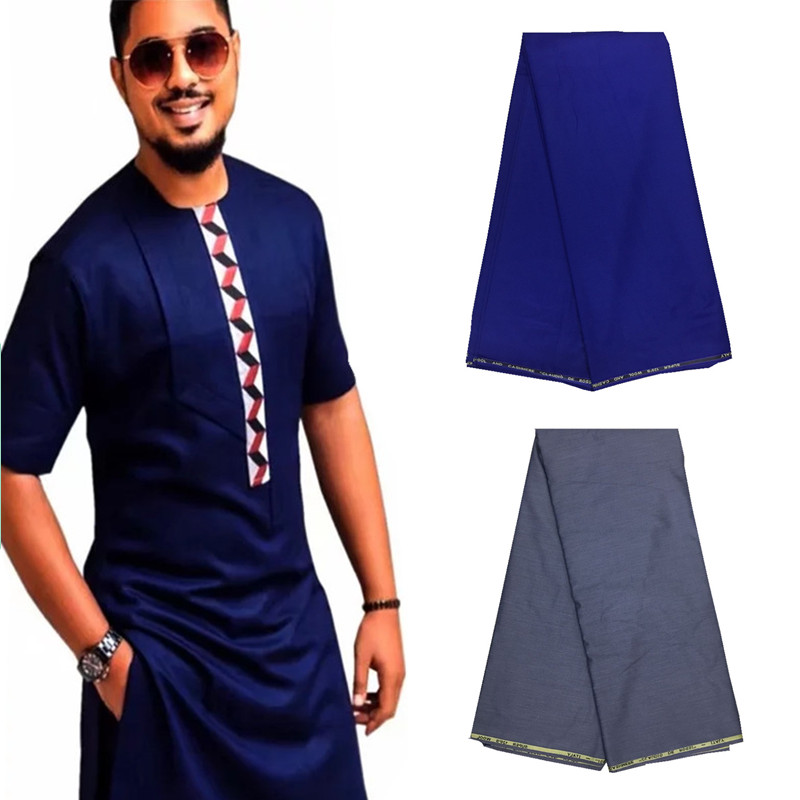 10Yards TR Material For Men Cloth African Men African Agbada Soft TR Fabric with High Quality