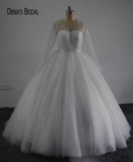 Brillante Bling Bling Nuevo vestido de Bola de Princesa Vestido de ...
