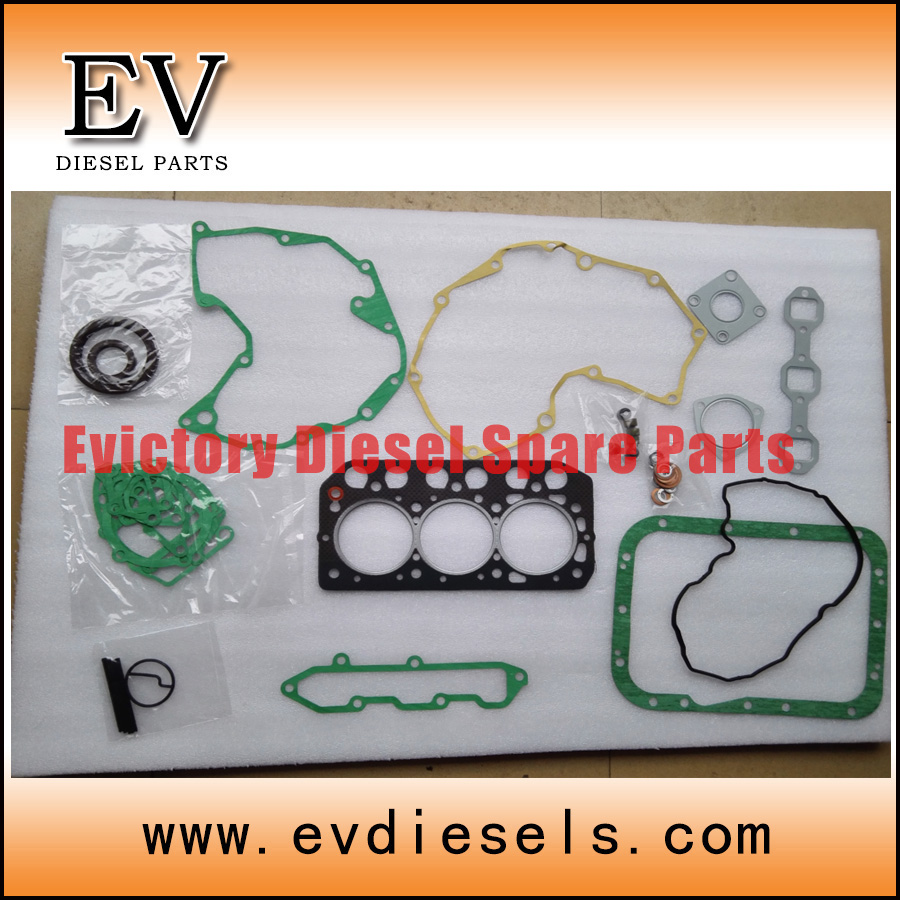 For Mitsubishi S3L S3L2 full gasket kit cylinder head gasket kit 31B94 01090 31B94 01080