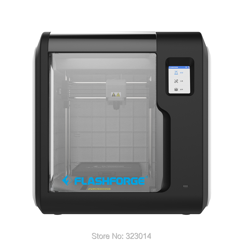 Stampante Flashforge 3D 2018 nuovo Avventuriero 3 Staccabile Ugello Rimovibile Riscaldato letto di Stampa supporto Potrebbe Stampa W/1 di trasporto spool