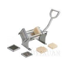 Ручная машина для картофеля фри, экструдер для картофеля, измельчитель, коммерческий вертикальный бытовой картофель фри из нержавеющей стали