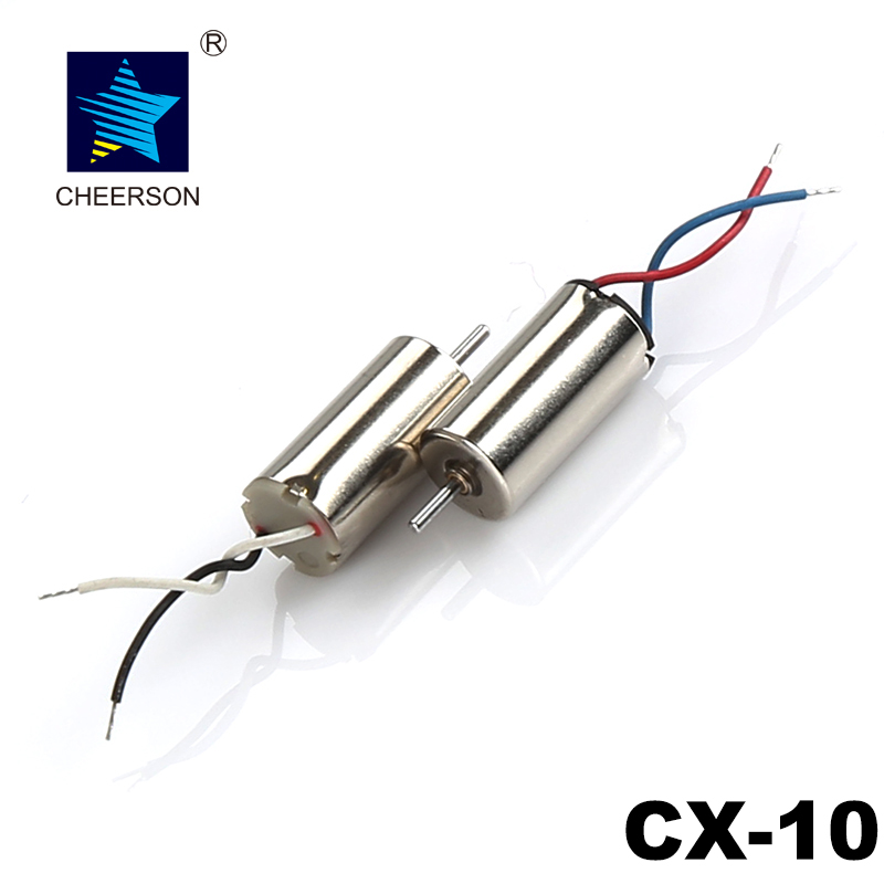 Cheerson CX-10 RC Mini Quadcopter Spare Parts CX-10 Motor CW and CCW For  CX-10/CX-10A/CX-10C/CX-10D/CX-10W/CX-10WD Mini Drone cheerson cx 10c cx10c rc quadcopter spare parts camera board