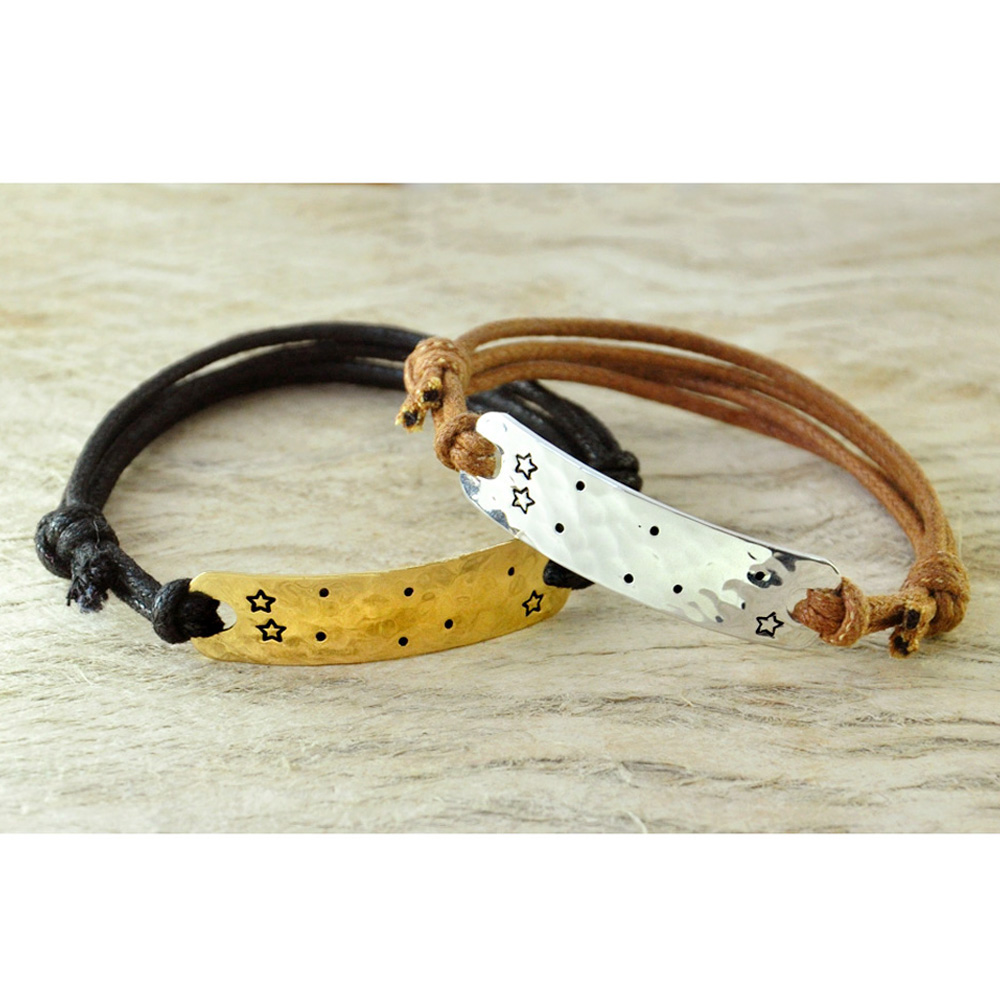 Personalized Gemini bracelet Constellation bracelet Gemini Sign Birthday Gift, Star Sign jewerly