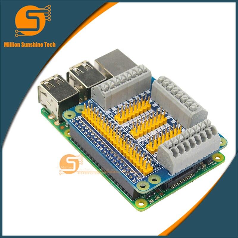 GPIO Expansion Board Raspberry Pi Shield For Raspberry PI 2 3 B B+ With Screws For Raspberry Pi 3 Model B Diy Kit