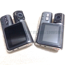 330 Degree Rotation Dual Lens Camcorder Auto Car DVR Dual Camera HD 1080P Dash Cam Black Box Driving Recorder With Parking Rear