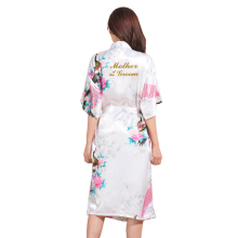 BZEL Mother Of The Groom Fashion Dressing Gown For Women Bri