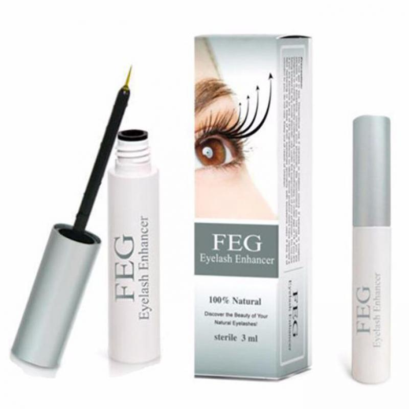 5pcs/set FEG Eyelash Growth Enhancer Powerful Makeup Eyelash Growth Serum Enhancer Eye Lash Longer Thicker 3ml Eyelash Liquid