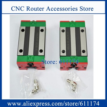 2PCS Original HIWIN HGH30CA Linear Guide Bearing, slider block for HGR30-R linear guide rail