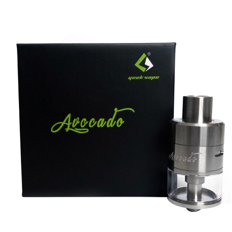 Original Geekvape Avocado RTA Tank Adjustable positive pin Drip tip replaceable Electronic Cigarette tank VS Griffin