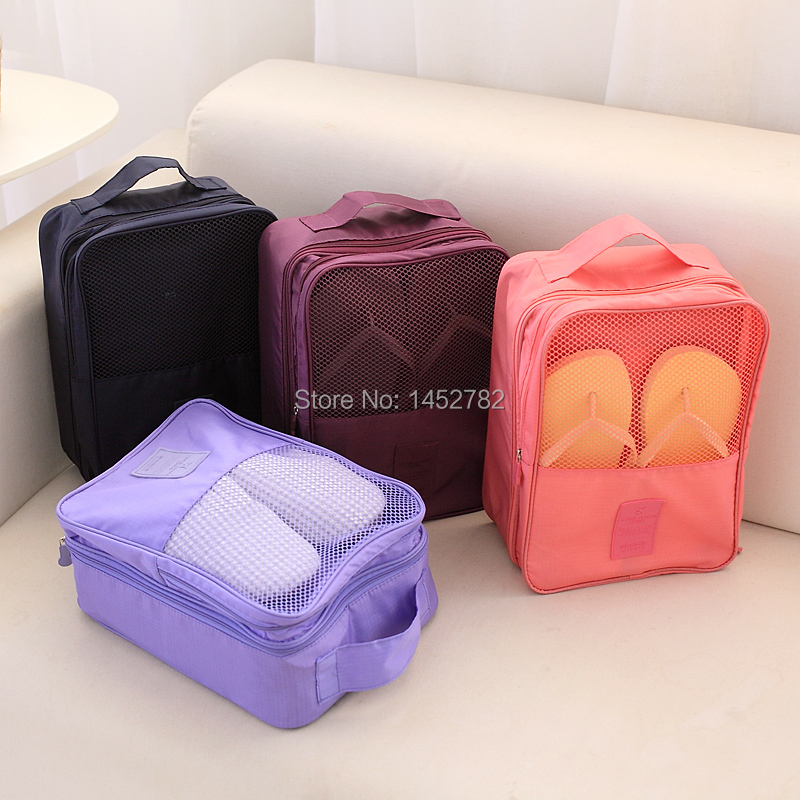 Shoe Storage Bag 3 Pairs Of Shoes Sorting Bags Box Travel Underwear Bag Shoes Storage Bag