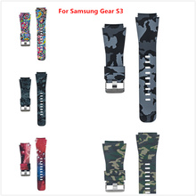 Replacement Bracelet For Samsung Gear S3 Frontier Classic Printing Watch Strap Wristband For Samsung Gear Sport Smart Wristband