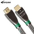 Zonyee HDMI Cable Wholesale High-end HDMI 2.0 Version Cable Support 3D 4K 60fps 4096*2160 60HZ 1m 1.5m 2m 3m 5m HDMI Cable DHL