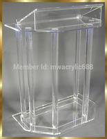 pulpit furniture Free Shipping Beautiful Acrylic Podium Pulpit Lectern acrylic pulpit