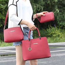 3 Sets Women Handbag Composite Bags Casual Totes Purse PU Leather Ladies Brand Messenger Luxury Female Designer Shoulder Bag Set