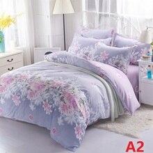 Лидер продаж полиэстер постельных принадлежностей Queen Size постельное белье простыней комплект