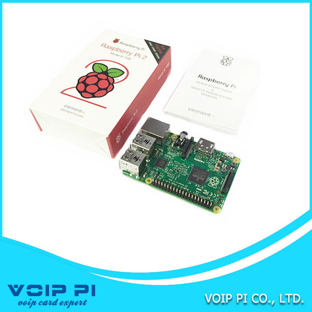 ELEMENT14 Original Raspberry Pi 2 Model B 1GB RAM 900Mhz Quad Core ARM Cortex A7 6 times faster than RASPBERRY PI B+