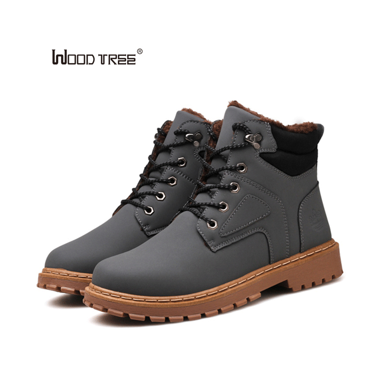 WOODTREE 2017 Men Casual Shoes New Spring Men Flats Lace Up Male Suede Oxfords Men Leather Shoes Zapatillas Hombre - 2