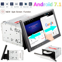 HD 10.1'' 1024x600 Touch Screen Car DVD Player Android 7.1 car styling Car Stereo with GPS Navigation Double 2 Din Auto Radio