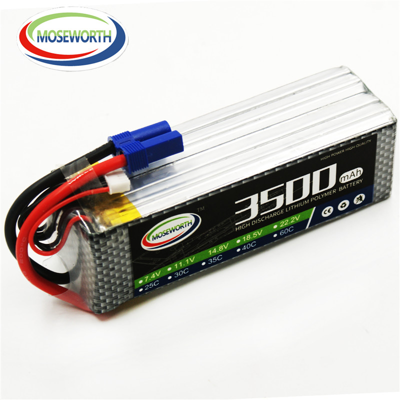 MOSEWORTH 5S RC Lipo Battery 18.5v 3500mAh 60C For RC Aircraft Quadcopter Boat Drones Helicopter Car Airplane Li-polymer AKKU 5S 5pcs lot 20cm 20cm rc battery fastening tape for li po battery of rc quadcopter rc aircraft rc boat wholesale