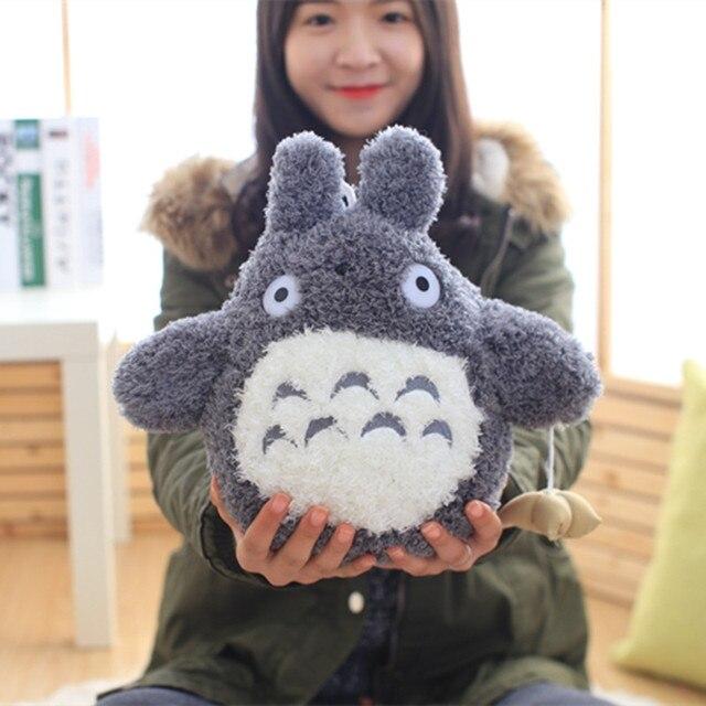 1 pc 20 cm Japonês Dos Desenhos Animados Estilo Encantador Totoro Pelúcia Brinquedos de Pelúcia Boneca Bonito Do Personagem do Filme para Crianças Aniversário Kawaii presente