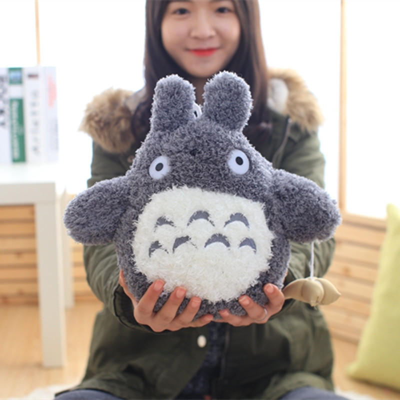 1pc 22cm Japanese Cartoon Lovely Style Plush Totoro Toys Stuffed Baby Doll Cute Movie Character Children Birthday Kawaii Gift электрическая зубная щетка cs medica cs 561 kids