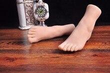 Высокое Качество Фут Фетиш Игрушки, Настоящее Кожи Поддельные Ноги мужской мастурбации, фут Фетиш Игрушки, Реалистичные Женские Ноги модель