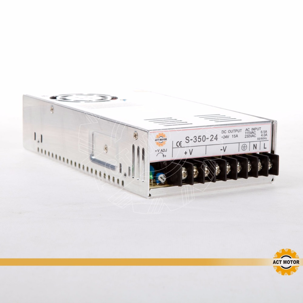 FREE SHIP CNC Router Single Output Power Supply 350W 24V S 350 24