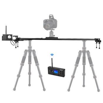 SEVENOAK SK-MTS100 elektryczny jazda kamerowa tworzenie wideo i fotografia poklatkowa dla Canon Sony lustrzanek DSLR aparat cyfrowy kino kamera