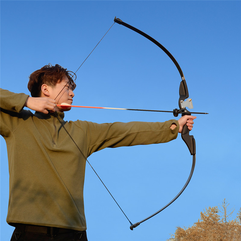 Image 3 - Archery Recurve Takedown Bow 25 30 35 lbs Right Handed for Beginner Practice Hunting Shooting Training-in Bow & Arrow from Sports & Entertainment