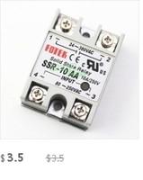 1 шт. ССР-40da 40А твердотельные реле модуля 3-32 в постоянного тока вход 24-380vac
