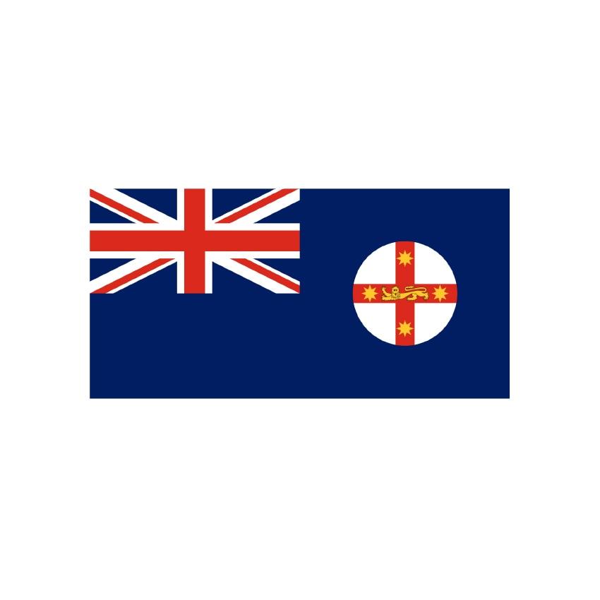 2019 Outdoor 120*180 cm 90*150 cm 60*90 cm 40*60 cm AUS Flagge, new South Wales State flag, Australien Flagge mit 2 ösen