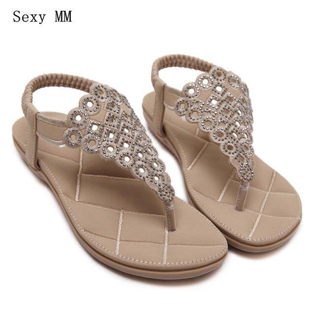 4aae9b3698dbb Summer Style Slides Women Flat Sandals Woman Shoes Flip Flops Slippers  Ladies Sandals Plus Size 35 - 40 41