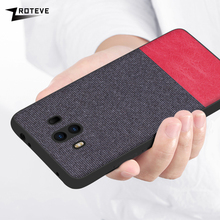 Case For Huawei Mate 10 Soft TPU Edge Canvas Back Cover Fash