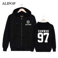 Youpop KPOP Korean Fashion ASTRO Spring Up 1st Mini Album 2nd Release Cotton Zipper Hoodies Clothes