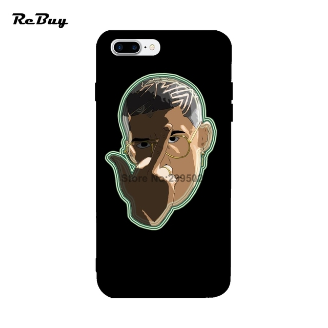 super popular 013c1 46c5f US $9.0 |Bad Bunny For Iphone 7 7plus 8 8Plus X Case Printed Glaze Soft TPU  Bad Bunny Covers For Iphone Case 6/6s/6plus/6s Plus-in Fitted Cases from ...