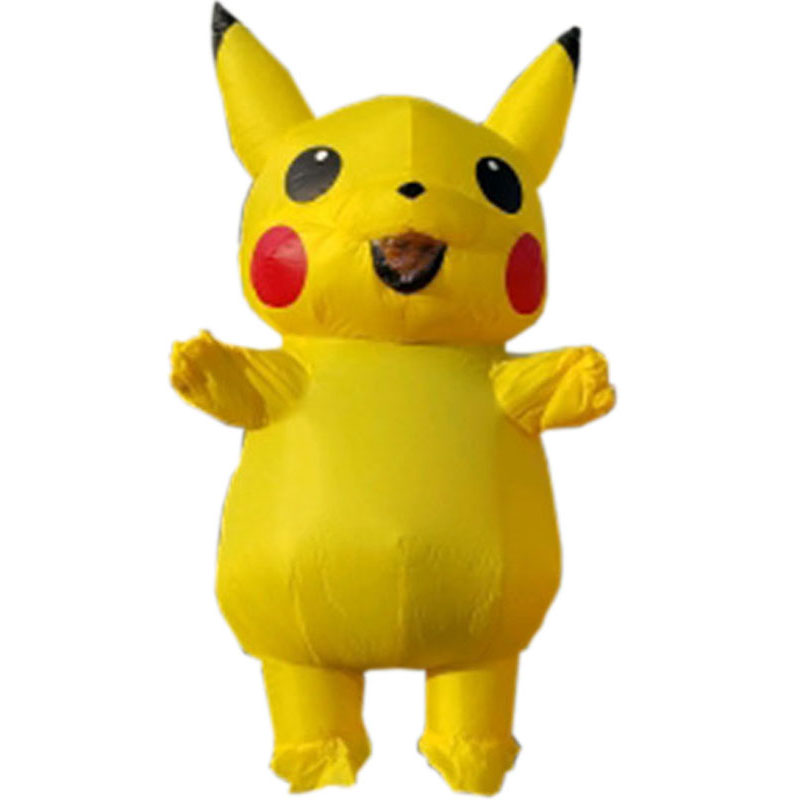Inflatable pikachu Costume for adult, party costume, carnival suit