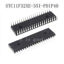 10PCS STC11F32XE-35I-PDIP4 STC11F32XE-35I-PDIP40