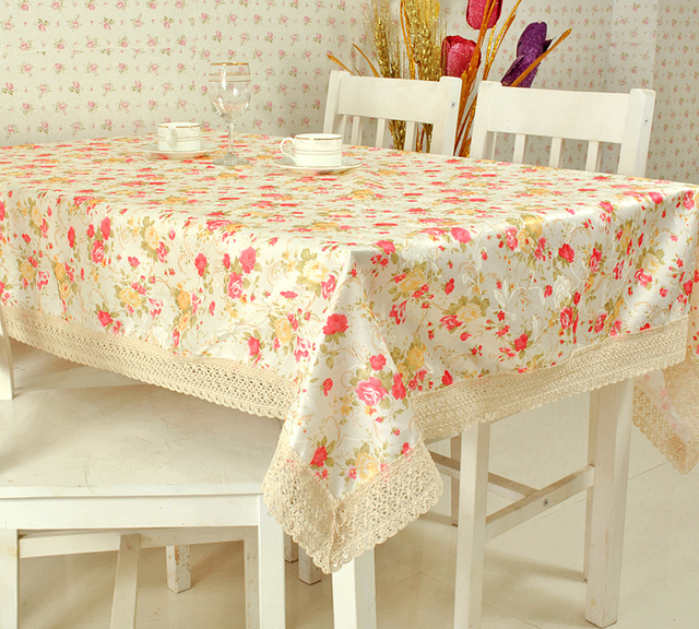 Rustic red fabric table cloth tablecloth dining table cloth towel cover coffee table multi-purpose towel
