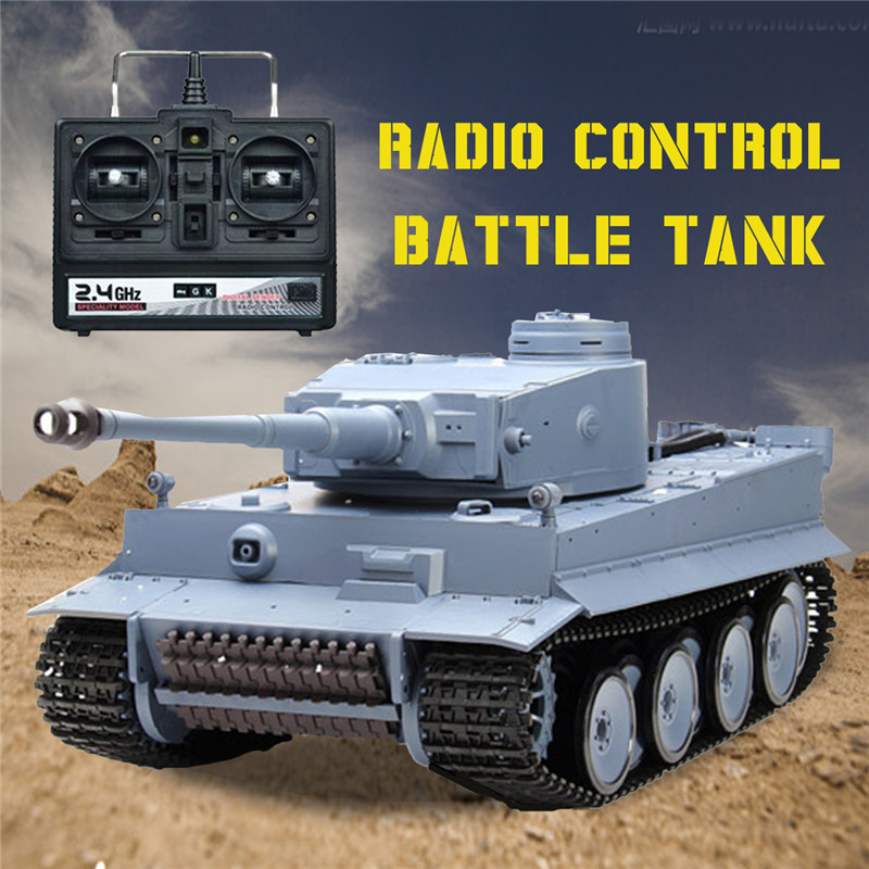 Nestest Heng Long 1/16-1 2,4 г 3818 Германия Тигр Танк радио управление боевой танк rc танк дистанционного Игрушки для мальчиков рождественские подарки дл...