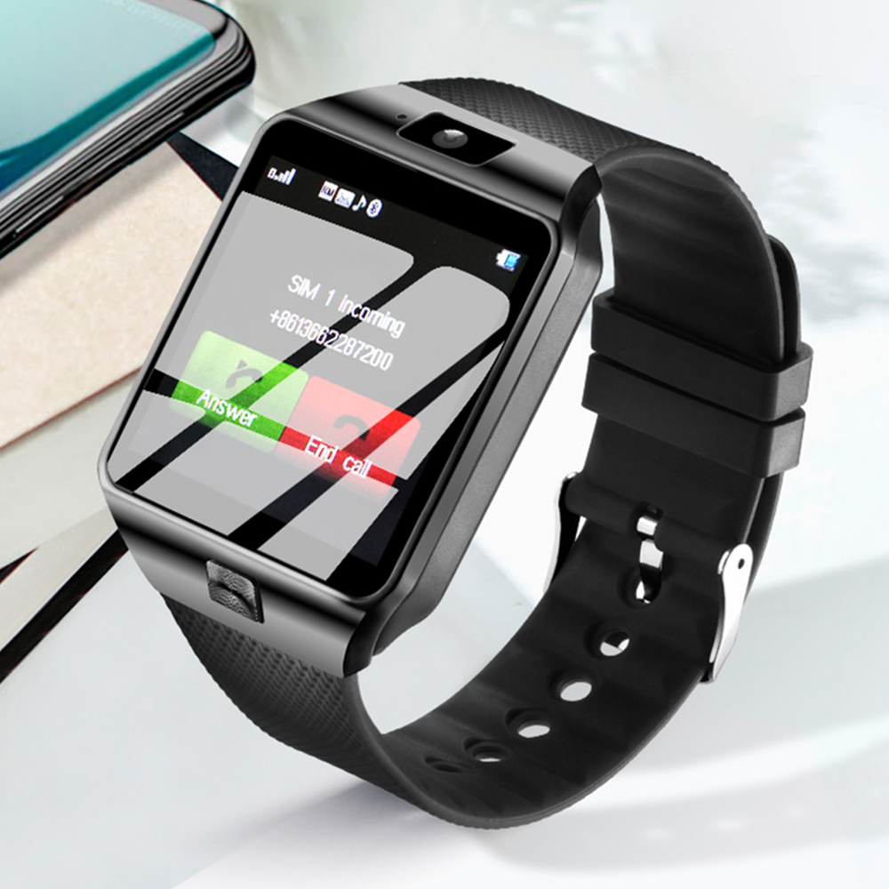 LEMFO Smart Watch Smartwatch Passometer DZ09 Support SIM TF Card Smartwatch DZ09 Reminder Smart Watch for IOS Android Phone