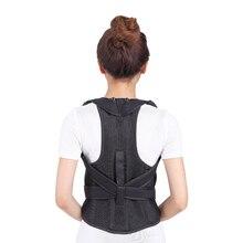Unisex Adulto Ortopédica Cinturón Corrector de Postura Hombro Apoyo de la Ayuda Correcta de la Fijación de Columna S-XL Envío Gratis