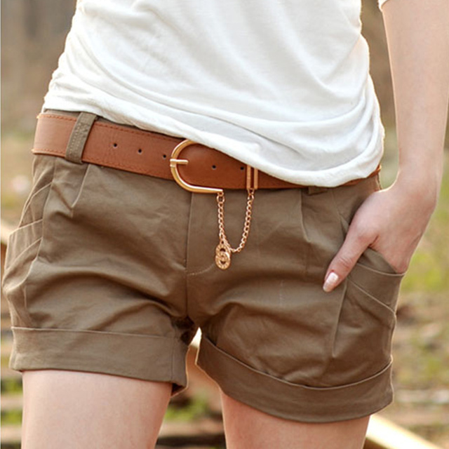 50d6f0a81 2017 Summer Hot Selling Woman Solid Shorts Casual Short Pants Woman Clothes  Shorts Slim Sexy Girls