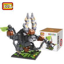 LOZ Javan Rhinoceros blocks ego nero legoe star wars duplo lepin brick minifigures ninjago guns duplo farm castle super heroes
