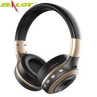 אוזניות אוזניות סטריאו Bluetooth האלחוטית B19 קנאי בס עם מיקרופון TF חריץ אוזניות רדיו LCD עבור טלפון xiaomi mi