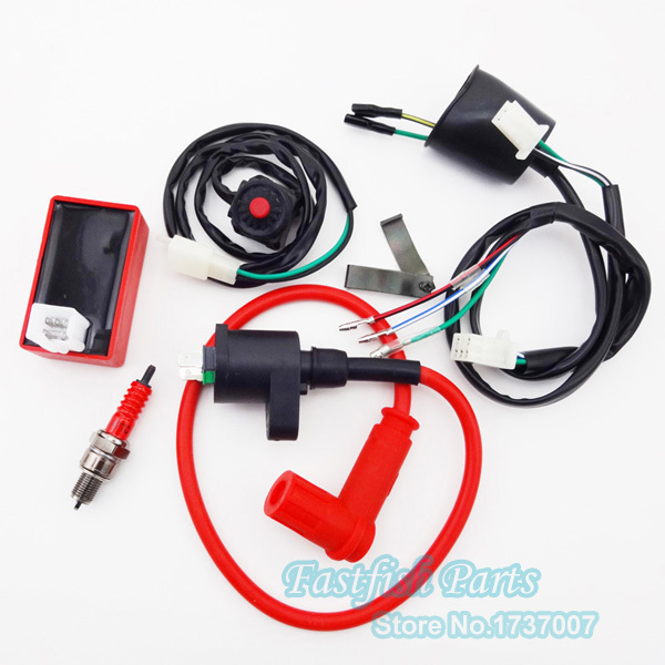 wiring loom harness kill switch racing ignition coil ac cdi 5 rh aliexpress com