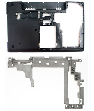 Nueva original lenovo thinkpad e530 e535 15 w caja inferior cubierta de la base inferior + hinge set 04w4110 am0nv000700