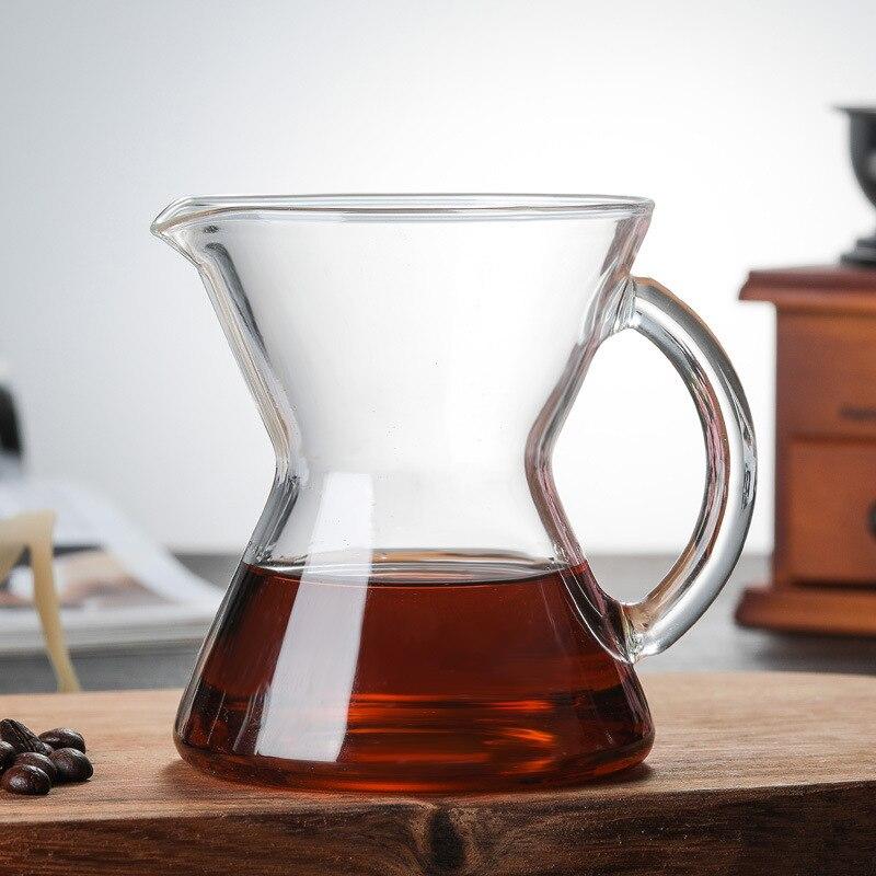 Стеклянный кофейник для дома, ручная заварка, кофейник ручной работы, капельная Кофеварка, кофейник для воды и льда